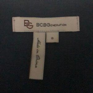 BCBG Dresses - BCBG Blue ruffle dress